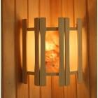 Абажур угловой 2 стекла гималайская соль плитка АУ2 СГСП