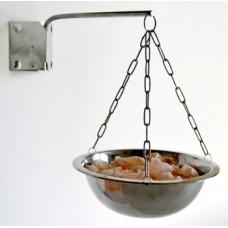 Арома-чаша испаритель для сауны с Гималайской солью в комплекте