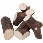 Микс разных пород дерева 7 - декоративные элементы для биокамина