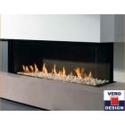 Газовый камин Gala двухстороняя Vero Design (Бельгия)