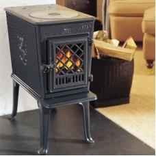Чугунная печь-камин Jotul F 602 GD с системой чистого горения (clean burn) - ВИДЕО