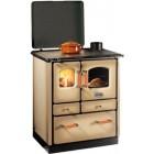 Отопительно-варочная печь  SOGNO 35 CAPPUCCINO - SIDEROS