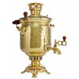 Самовар жаровой на дровах Праздничный 5 литров  (Тула)
