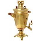 Самовар жаровой на дровах Традиционный 5 литров  (Тула)