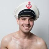 Колпак банный Моряк 100% шерсть