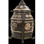 Тандыр УФА (ЦВЕТ: ЧЕРНЫЙ) глиняный Эко