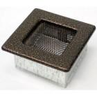 Решетка вентиляционная 11х11 черная медь пористая(Польша)