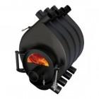 Отопительная печь АОГТ 100-200м3 со стеклом  - Везувий