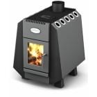 Дровяная отопительно-варочная печь для дома и дачи Комбат 150 Screen