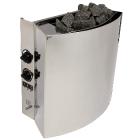 Электрокаменка Kristina Compact Plus 4 кВт со встроенным пультом (Политех-М)