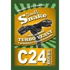 Дрожжи C24 Turbo DoubleaSnake (Великобритания)