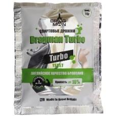 Дрожжи ТУРБО спиртовые Bragman Turbo 115 г (Великобритания)